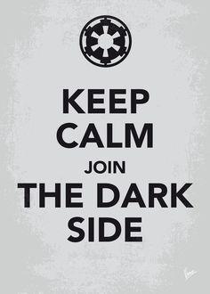 Keep Calm Star Wars - Galactic Empire - poster by Chungkong.deviantart.com