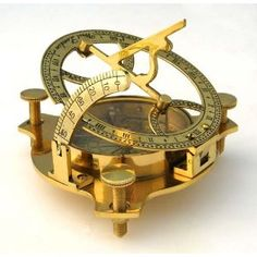Compass and sundial...pretty!