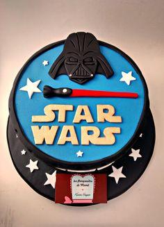 """Torta de """"Star Wars"""" │""""Star Wars"""" cake - inspirada de la web (creditos a quien corresponda) │ inspired by the web ( credits to the appropriate )"""