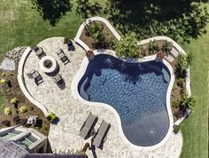 Natural / Freeform Pool #115 by Southernwind Pools | Backyard ideas ...
