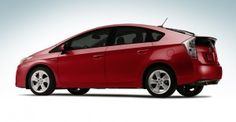 2012 Toyota Prius in cherry red  also love in white