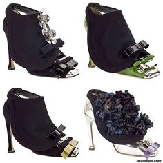 """Miu Miu Fall 2010. I love the shoes from this season, even the quirky """"shoe-flap""""."""
