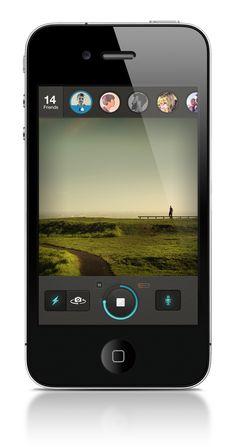Sweet menu, tight with details. Camera app #UI