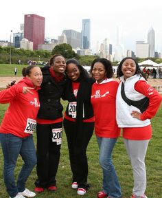 Team Red Pump at the 2009 Chicago AIDS Walk