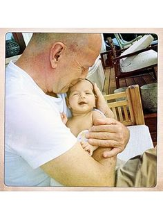 Bruce Willis and daughter Mabel