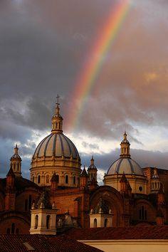 UNESCO World Heritage Site.  Cuenca, ECUADOR