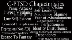 PTSD | CPTSD | C-PTSD | complex post traumatic stress disorder | veterans | trauma | quotes | recovery | symptoms | signs | truths | coping skills | mental health | facts | read more about PTSD at thislifethismoment.com #PTSD-PostTraumaticStressDisorder