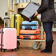 Take a look at the Gear Up for Getaways: Luggage event on zulily today!