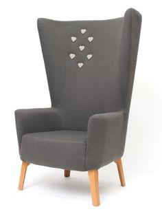 Love this office Chair by Deadgood #heart #chair #interiors #design