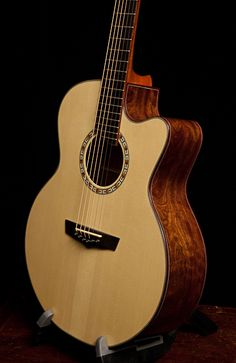 Chechen Guitar, small jumbo with cutaway, Lichty Guitars