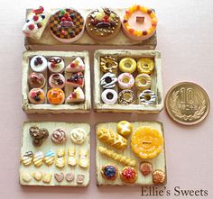 Miniature sweets&bread | by Cherie Fleuge