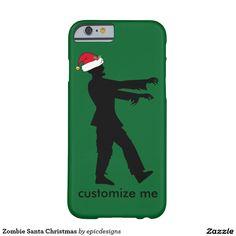 Zombie Santa Christmas