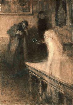 Serafino Macchiati, Le visionnaire 1904