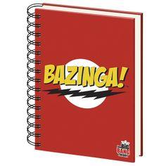 Bazinga-muistikirja. Näitä ei enää löydy emp:n tai alphageekin verkkokaupoista enkä tiedä löytyykö mistän, mutta jos tiedät missä myydään, niin kelpaa mulle ^^ (n. 5€)
