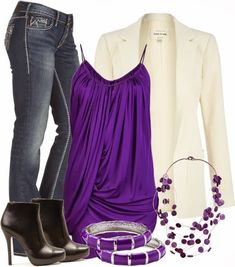 Stylish Outfit With White Coat <3  Ready to improve your life? Check out: http://fabfiercefreedom.com/