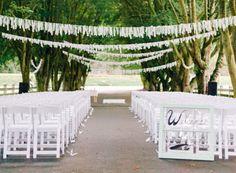 Des idées deco pour vos cérémonies | Déco Mariage | Queen For A Day - Blog mariage
