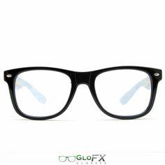 GloFX Ultimate Diffraction Glasses – Black