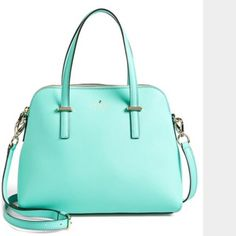 Kate Spade Cedar Street Maise Authentic Kate Spade Cedar Street satchel. turquoise. kate spade Bags Satchels