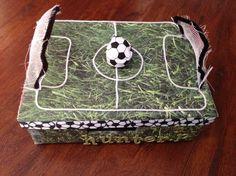 soccer valentine box - Soccer Valentine Box