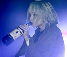 Alice Glass, grunge, and alcohol image