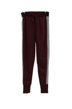 Quilted Contrast Fleece Lined Joggers