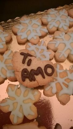 Special message from my cookie to my love!
