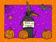 Halloween Dachshund by Dachshund Clube, via Flickr