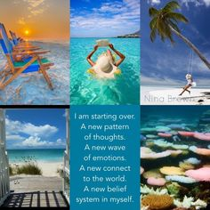 Perhaps at one time you sensed the anointing of the Lord on your life, and you… Mood Colors, Colours, Word Collage, Collage Art, Collages, Pink Beach, Colour Board, Lake Life, Color Of Life