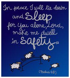 Psalms 4:8
