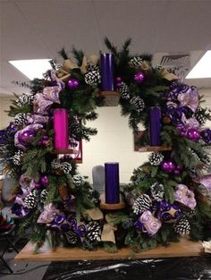 verticle advent wreath - Bing Images
