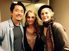 Steven,  Mrs Reedus (MOM) & Melissa