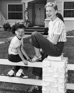 Doris Day & son Terry Melcher
