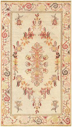 19th Century Turkish Ghiordes Rug 50036