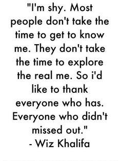 wiz khalifa shyness | nervousness # shyness # wiz khalifa # quote