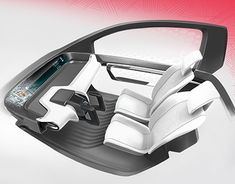 Car Interior Sketch, Car Interior Design, Interior Design Sketches, Car Design Sketch, Automotive Design, Car Sketch, Tesla Interior, Future Concept Cars, Microcar
