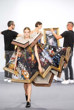 Most definitely Artsy Fartsy! // Viktor & Rolf Fall 2015 Couture - Collection - Gallery - Style.com