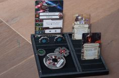 Foamcore Ship & Card Trays | Star Wars: X-Wing Miniatures Game | BoardGameGeek