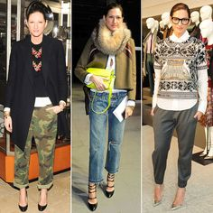 Jenna Lyons Who: Creative director and president of J.Crew, veritable styling authority. Why we love her: Too many reasons to count, really (doesn't everyone have a girl crush on Jenna?!). She could single-handedly be credited with taking the J.Crew label from a sleepier American classic to full-on fashion brand, with collections showing at Fashion Week and a slew of successful designer collaborations under her belt. But it's not just her business savvy; it's her personal style...
