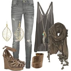 Boho Chic, created by daniraine on Polyvore