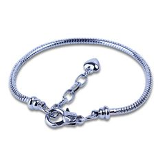 Silver Charms Bracelet //Price: $13.67 & FREE Shipping //   Get it here -> https://christmasxgifts.com  #charmsbracelet