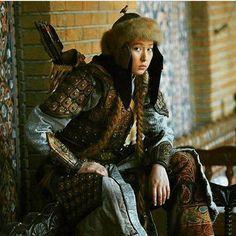 Oghur-Kipchak Turk female warrior!