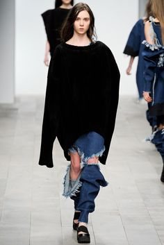 Marques Almeida...I want the sweater...perhaps the shoes....they can keep those jeans...
