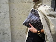 Great clutch & Hermes cuff~JG