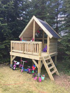 Amish made bulldozer playground set Backyard Play, Ponds Backyard, Backyard Projects, Diy Projects, Playground Set, Outdoor Playground, Summer Camp Themes, Tree House Plans, Playhouse Outdoor