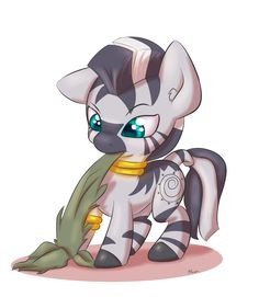 Zecora- pinning for the overwhelming cute factor!