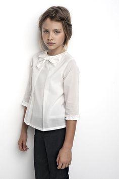 Sainte Claire AW 2014 // sweet bow neck blouse