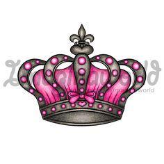 Queens Crown Tattoo by imaginaworld.deviantart.com on @deviantART