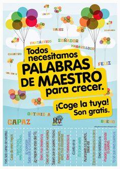 AYUDA PARA MAESTROS: PALABRAS DE MAESTRO PARA CRECER