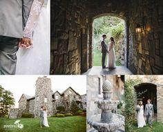 Lindsey + Daniel: A Fairytale Castle Wedding at Castle Ladyhawke in Tuckasegee, NC