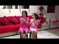 Ameryn & Amberle's Fun Clapping Game - YouTube